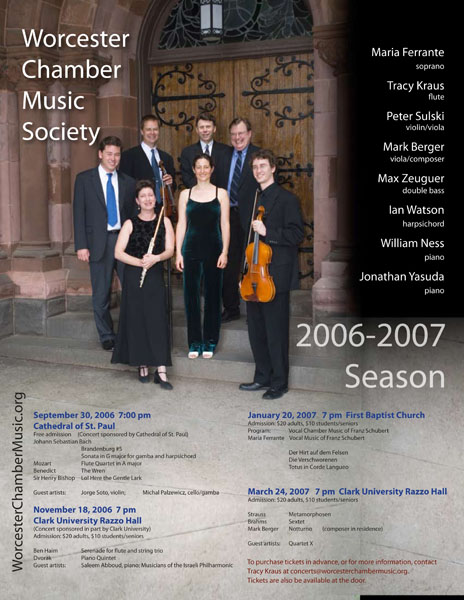worcester chamber music society concert poster