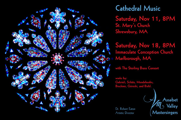 cathedral music poster